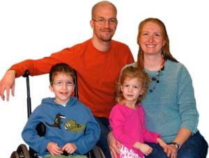 Family photo Isaiah's eye fixed - 3