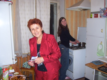 Galina Ivanovna and Deanna