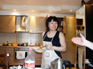 Our wonderful hostess