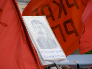 Honoring Stalin